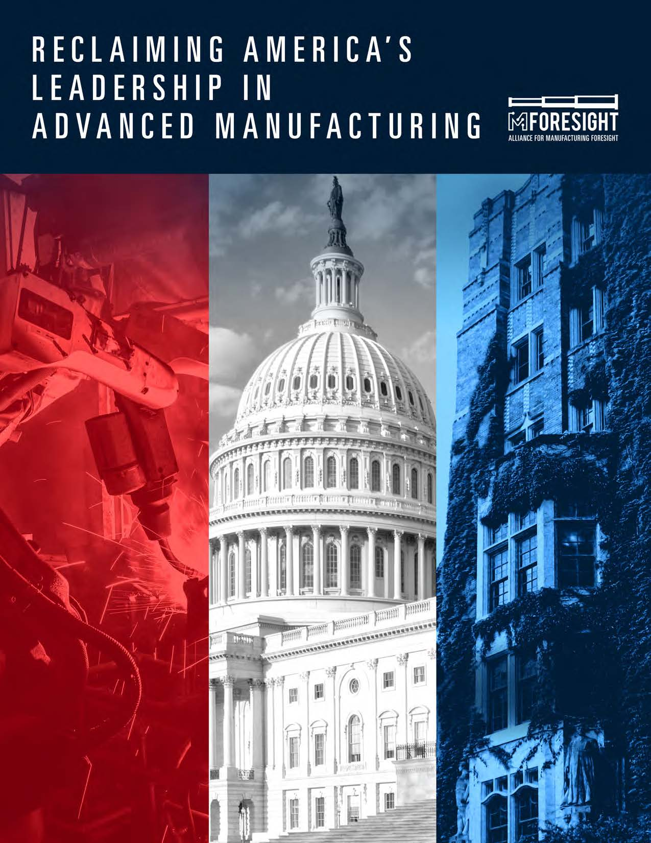 Reclaiming America's Leadership in Advanced Manufacturing Cover
