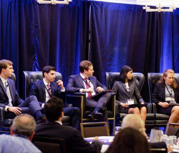 Legislative Panel of Congressional Staff: Jon Cardinal, Tanya Das, KC Morris, Caleb Orr, and Marc Santos
