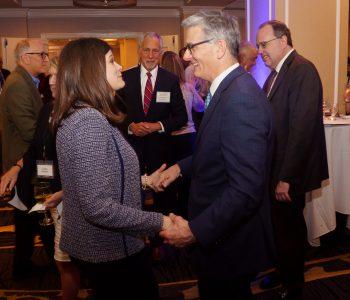 Michigan Representative Haley Stevens and Bart Meroney