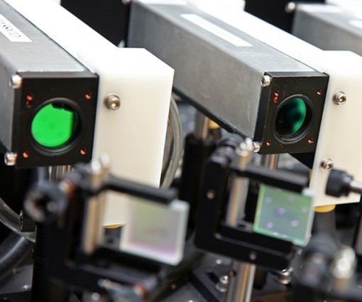 Image of diode lasers