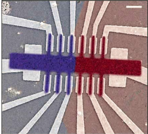 Image of atomically-thin circuitry