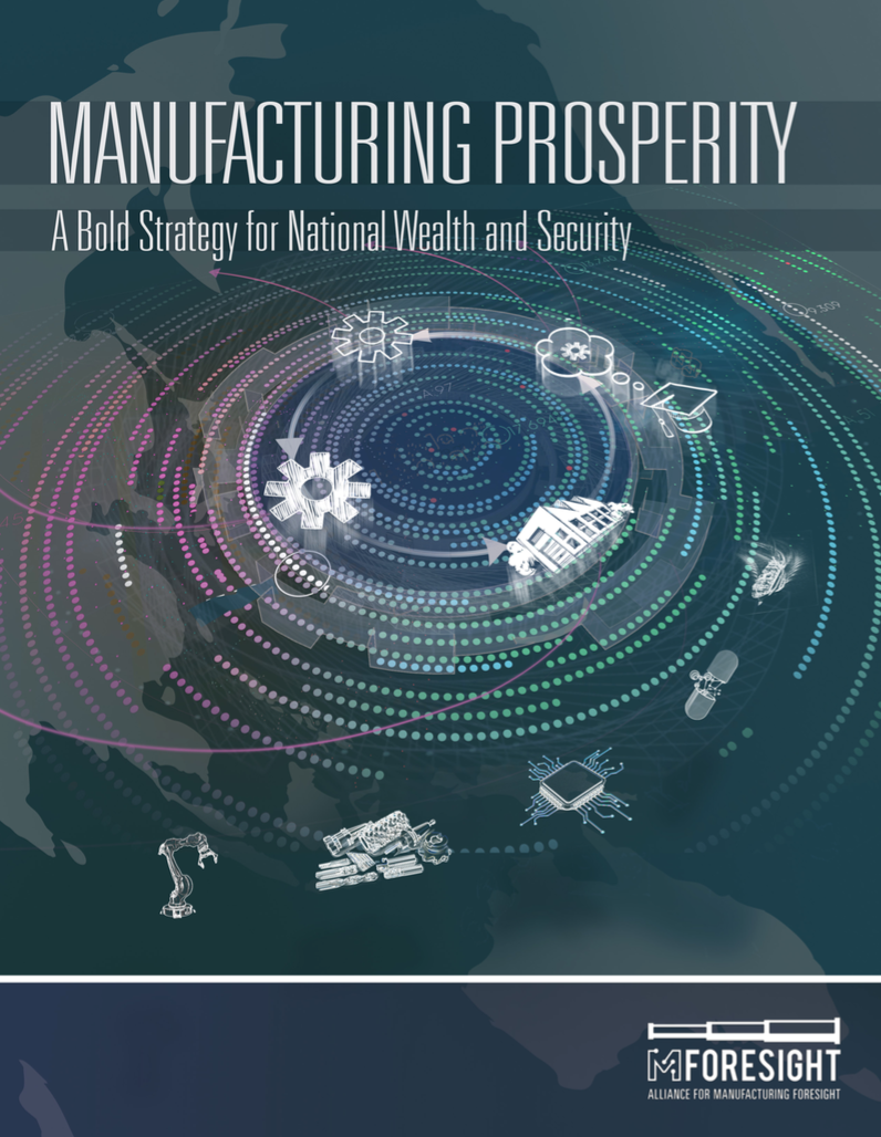 Manufacturing Prosperity Report Cover
