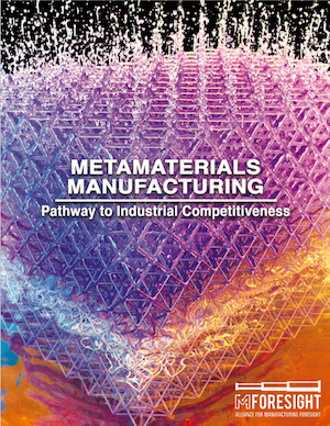 Metamaterials Manufacturing Report Cover
